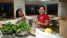 Shang and Ia cooking