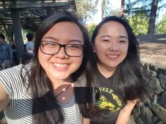 Mai and Suzanne